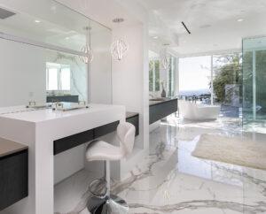 Custom Make up vanity design