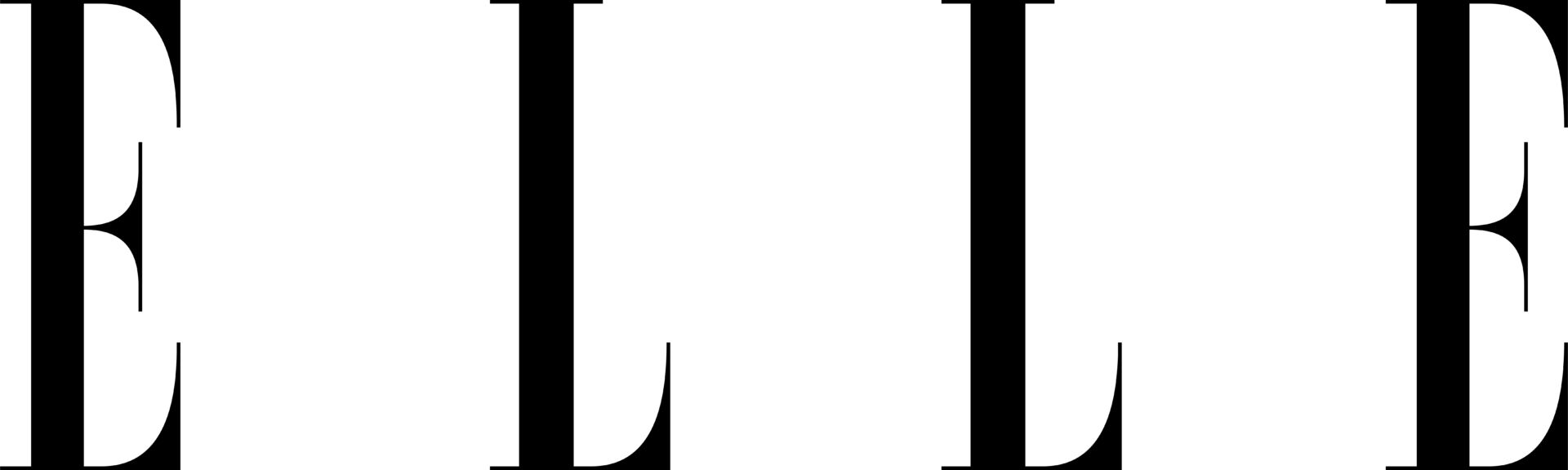 elle logo vector
